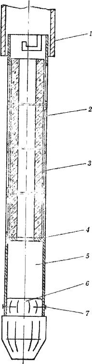 Фильтр из крупнопористого бетона с наружным стальным каркасом