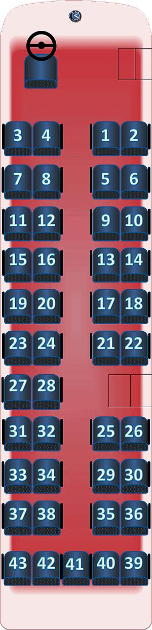 Схема рассадки мест в автобусе фото 187