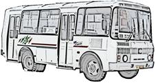 Схема салона паз 32054