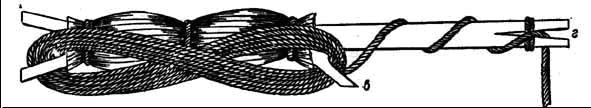 Западносибирский мотылек с намотанной леской