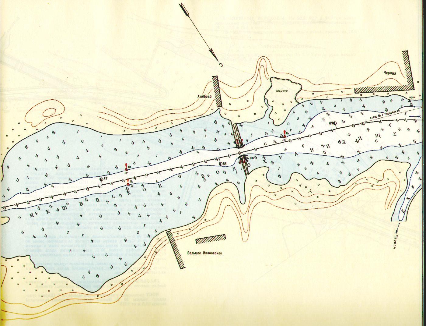 i карта рыболовных суден