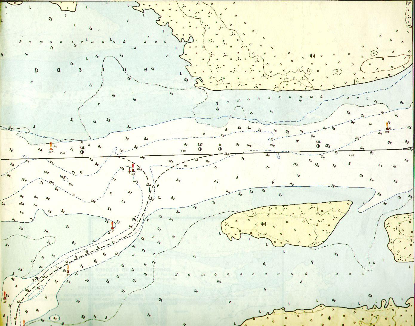 карта волгограда для рыболовов