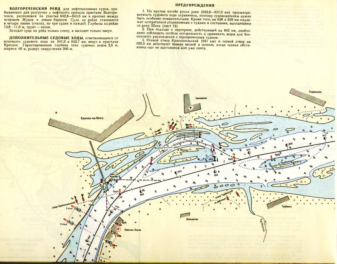 карта лоция горьковского водохранилища для андроид