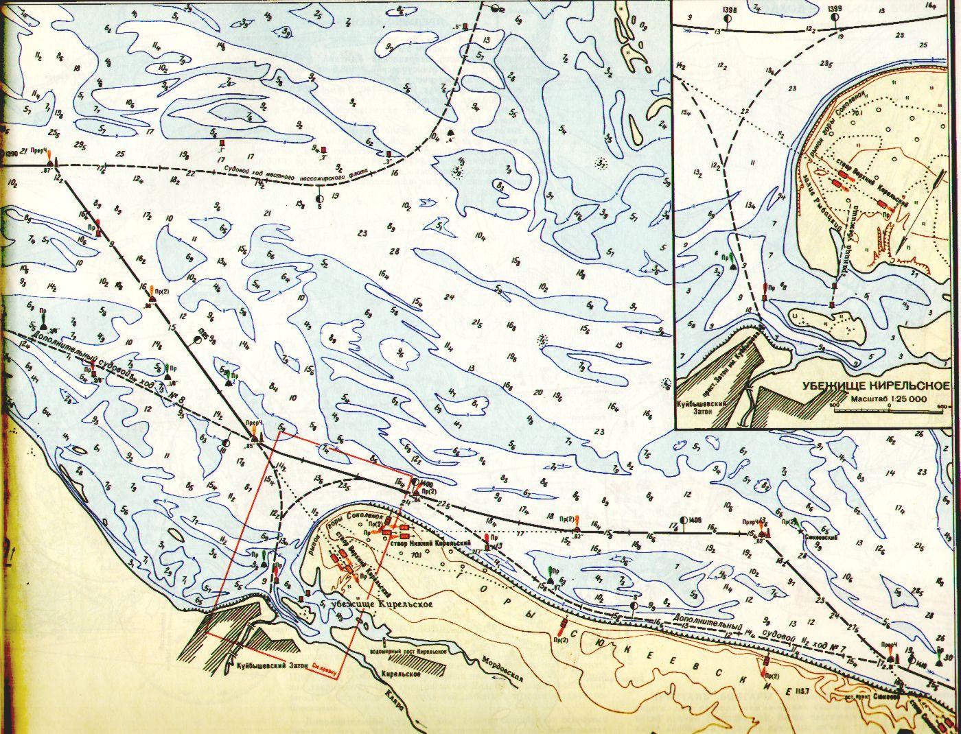 что могу лоцманская карта самарского водохранилища ковер-вертолет