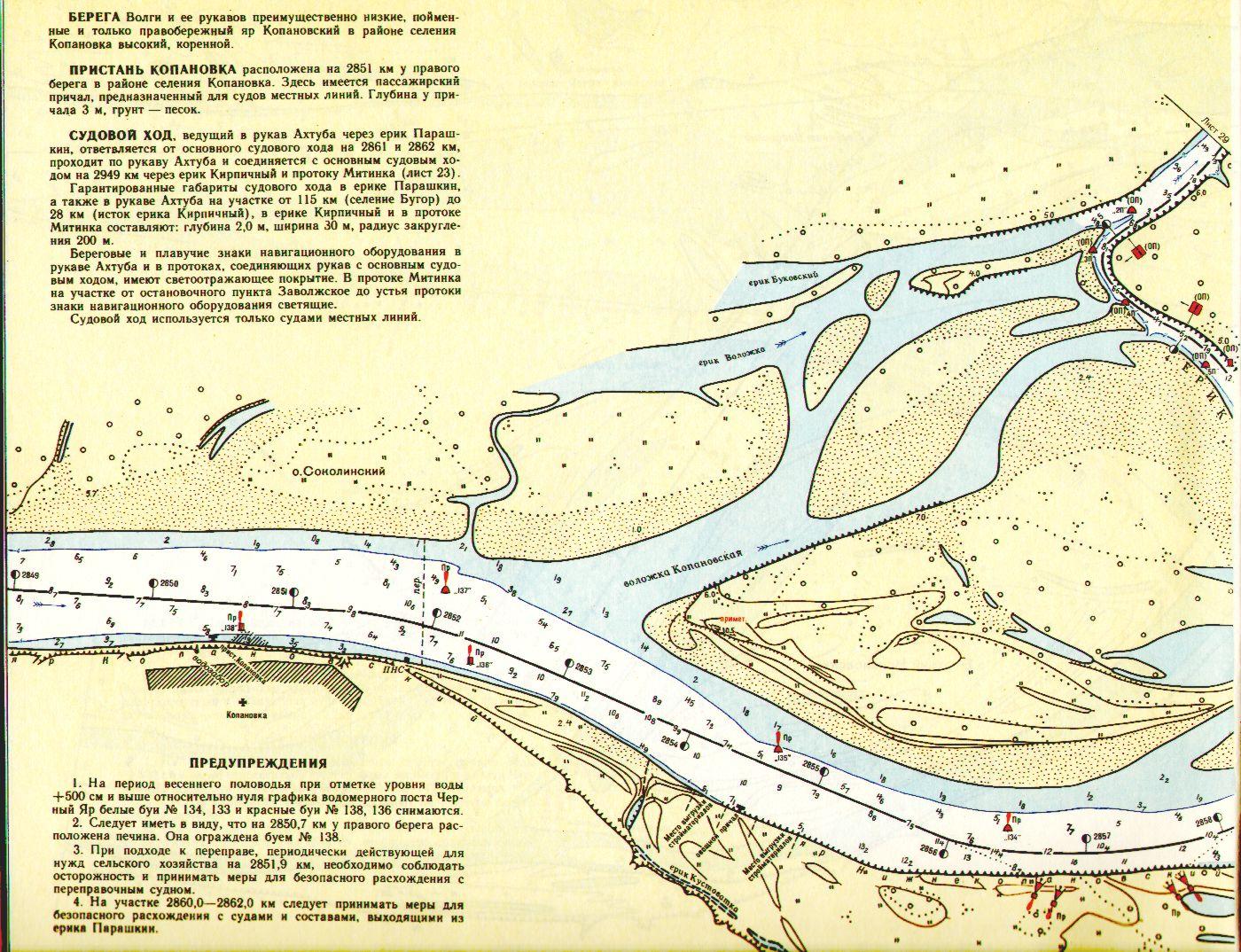 Карта схема русла реки нуя