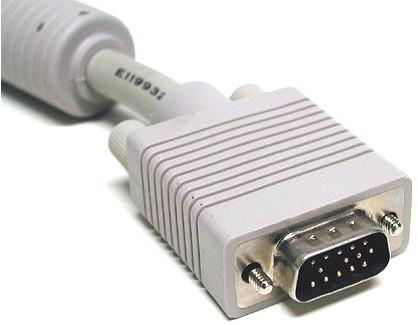 Интерфейс VGA на кабеле